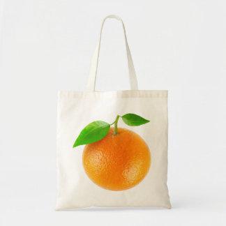 Bolso con la fruta anaranjada bolsa tela barata