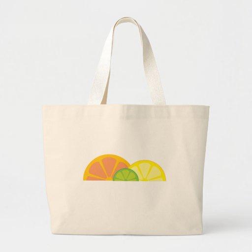 Bolso con sabor a fruta bolsa tela grande