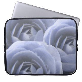 Bolso congelado camelia del ordenador portátil de  funda computadora