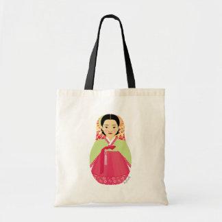 Bolso coreano de Matryoshka del chica Bolsas De Mano