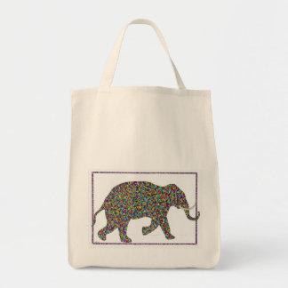 Bolso corriente del elefante del punto de cristal bolsas