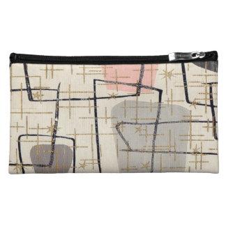 Bolso cosmético abstracto moderno de los mediados