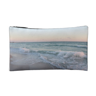 Bolso cosmético con diseño del océano