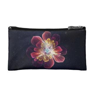 Bolso cosmético de encargo de la flor el | del mar