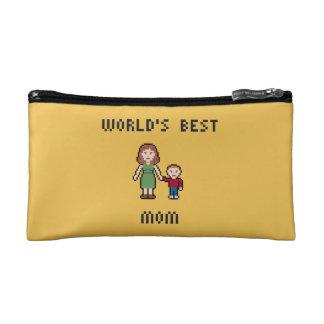 Bolso cosmético de la mejor mamá del mundo del