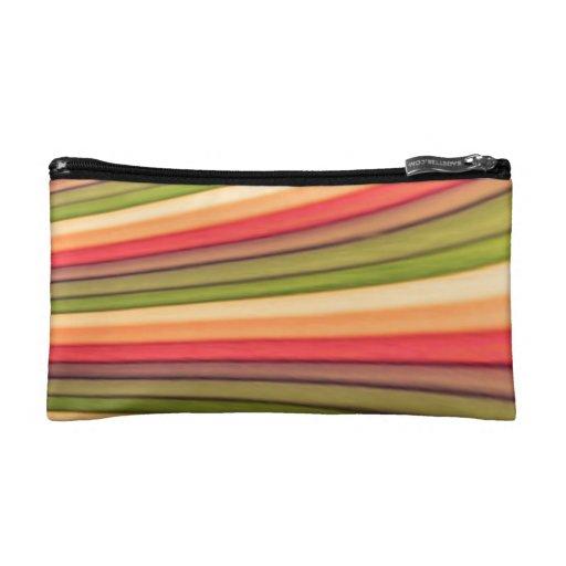 Bolso cosmético del arte del arco iris pequeño