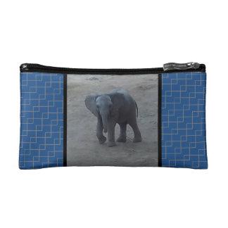 Bolso cosmético del elefante del bebé - armadura
