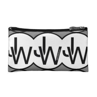 Bolso cosmético del logotipo del círculo de