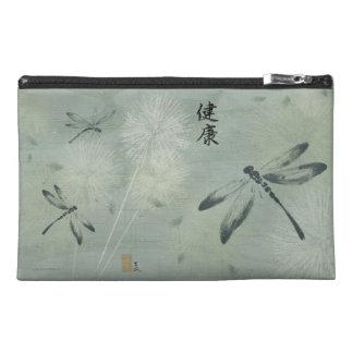 Bolso cosmético del viaje de la libélula