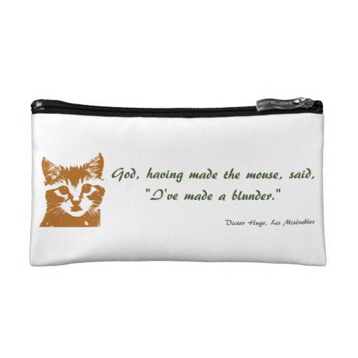 Bolso cosmético: El gato