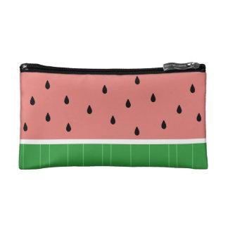 Bolso cosmético lindo de Kawaii de la sandía