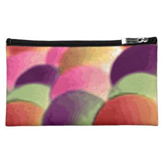 Bolso cosmético medio del arte del arco iris por