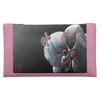 Bolso cosmético - orquídea y predicador