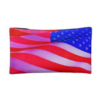 Bolso cosmético patriótico