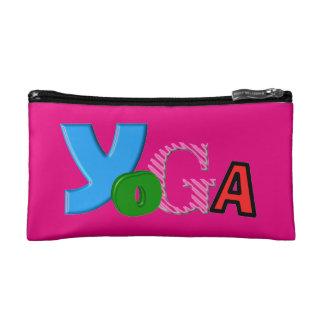 Bolso cosmético - regalos únicos de la yoga para