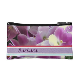 Bolso cosmético violeta púrpura