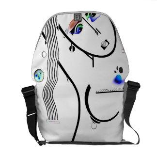 bolso cosmos desnuda bolsas de mensajeria