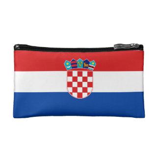 Bolso croata de los cosméticos de Zastava Hrvatske