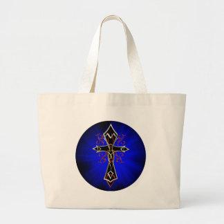 Bolso cruzado tribal céltico bolsa tela grande