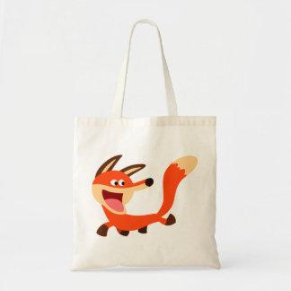 Bolso dañoso lindo del Fox del dibujo animado