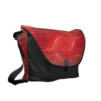 Bolso de acoplamiento rojo 1 de Phoenix II SDL Bolsa De Mensajeria