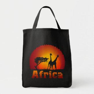 Bolso de África Bolsa Tela Para La Compra