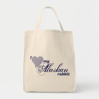Bolso de Alaska del conejo Bolsa De Mano