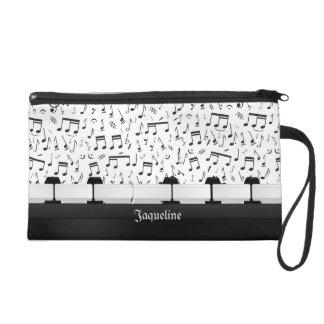 Bolso de Bagette del teclado de piano de la música
