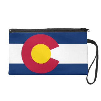 Bolso de Bagettes con la bandera de Colorado, los