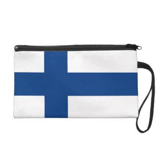 Bolso de Bagettes con la bandera de Finlandia