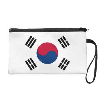 Bolso de Bagettes con la bandera de la Corea del S