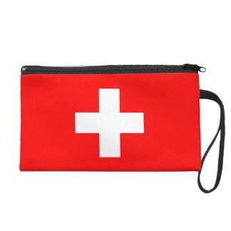 Bolso de Bagettes con la bandera de Suiza