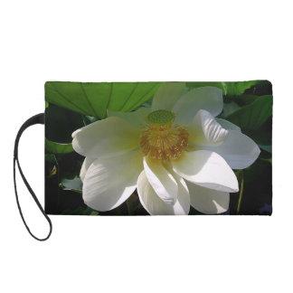 Bolso de Bagettes con la flor de Lotus blanco