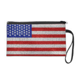 Bolso de Bagettes de la bandera americana del vint