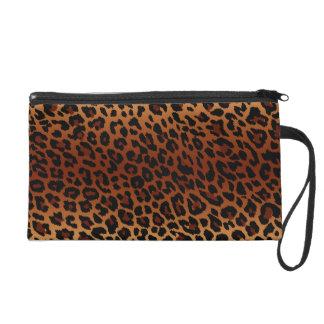 Bolso de Bagettes de la piel del leopardo