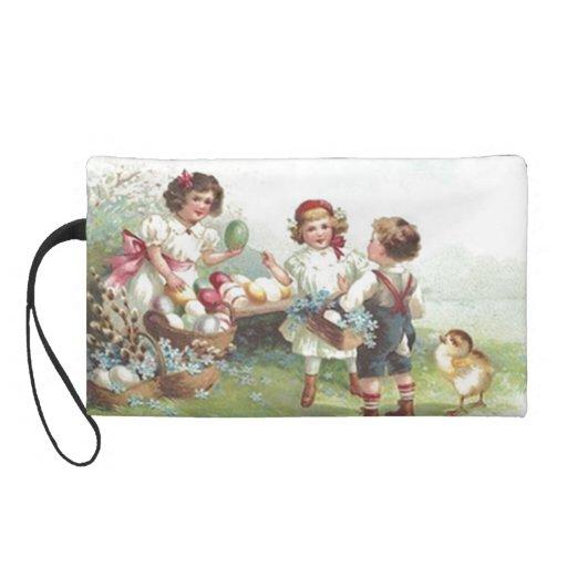 Bolso de Bagettes del fiesta de Pascua del vintage
