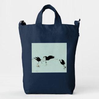 Bolso de BAGGU de la fauna de los pájaros de la Bolsa De Lona Duck
