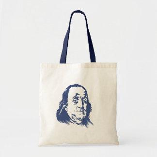 Bolso de Ben Franklin Bolsa Tela Barata