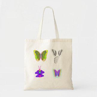 Bolso de Buterflies Bolsa Tela Barata