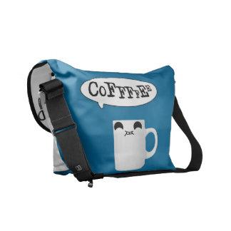 Bolso de café bolsas messenger