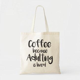 Bolso de café divertido y lindo bolsa tela barata