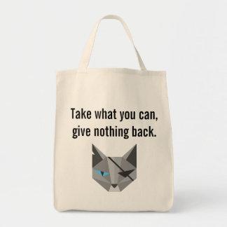 Bolso de CatTorrent Bolsa Tela Para La Compra