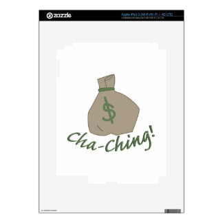 bolso de Cha-ching iPad 3 Pegatinas Skins