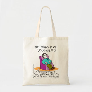 Bolso de Channukah - el milagro de buñuelos Bolsas Lienzo