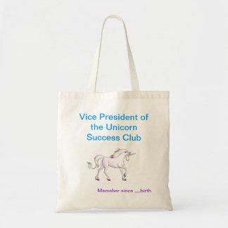 Bolso de club del éxito del unicornio bolsas