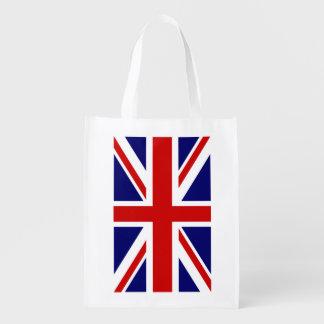Bolso de compras británico de la bandera de Union  Bolsas Para La Compra