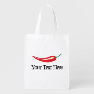 Bolso de compras caliente picante de la pimienta bolsa para la compra