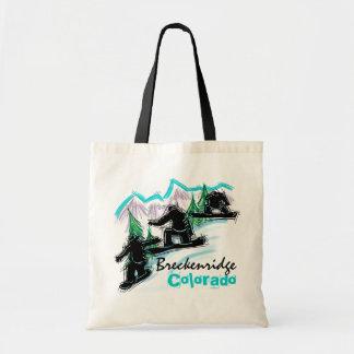 Bolso de compras de Breckenridge Colorado Bolsa Tela Barata