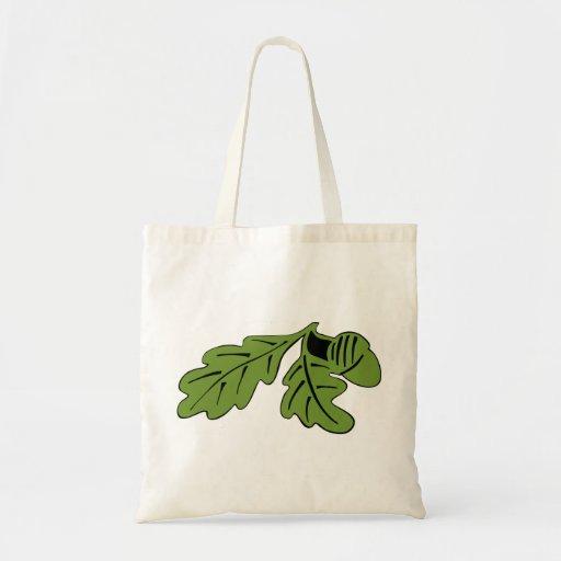 Bolso de compras de la bellota bolsa lienzo