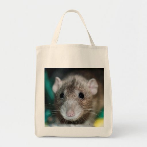 Bolso de compras de lujo de la rata de Dumbo Bolsa Tela Para La Compra